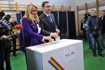 Ziua Votului. Premierul Victor Ponta a votat pentru un trai mai bun