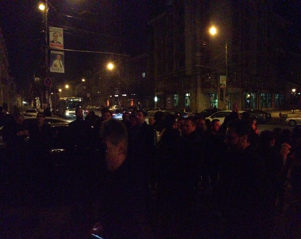 protesc ACL Cluj prefectura