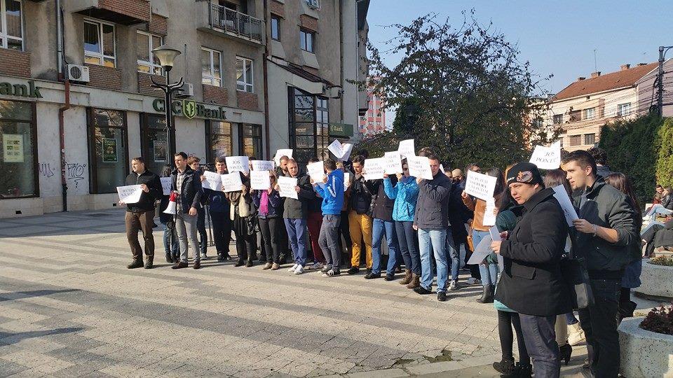 protest ACL Cluj prefectura