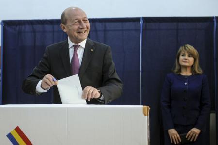 Băsescu, ultimul vot în calitate de președinte a României