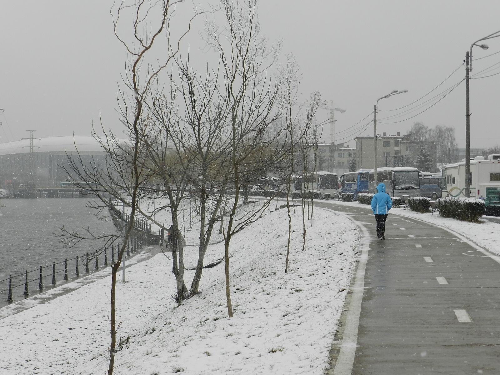 Avertizare ANM. Vin ninsorile din această noapte la Cluj!