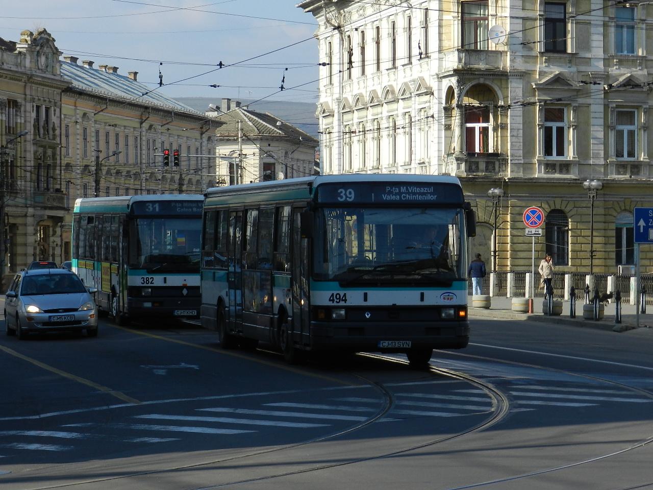CTP Cluj: Programul mijloacelor de transport în comun de sărbători