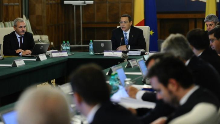 Remaniere totală. 6 miniștri părăsesc Guvernul Ponta! Cum va arăta noua structură a Executivului?