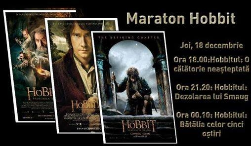 maraton hobbit joi 18 dec 2014