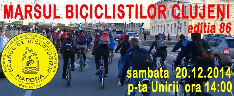 marsul biciclistilor cluj