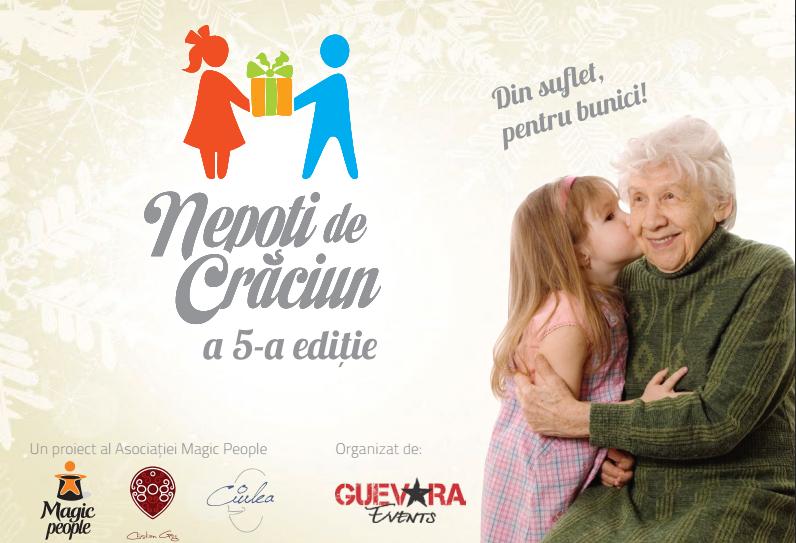 Nepoții de Crăciun și-au pus în plan să facă 1500 de bunici fericiți anul acesta