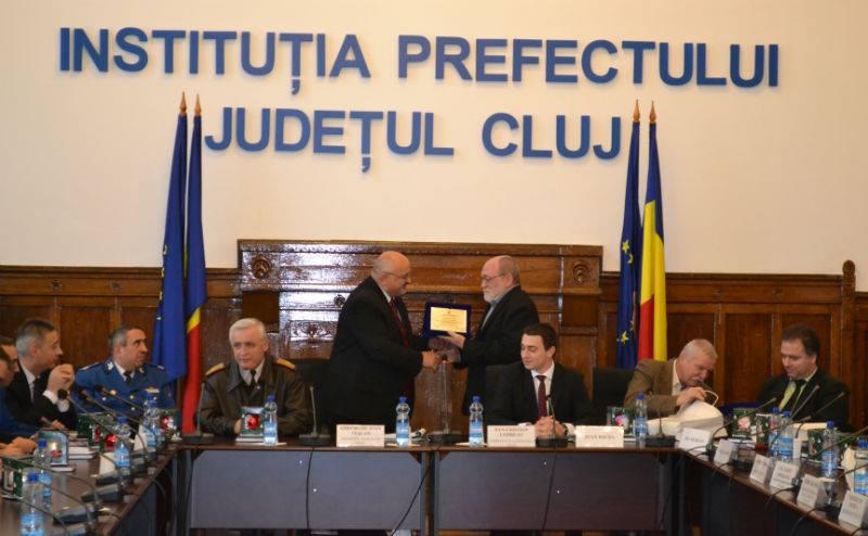 """Prefectura Clujului a acordat titlurile """"Onoare pentru Cluj"""""""