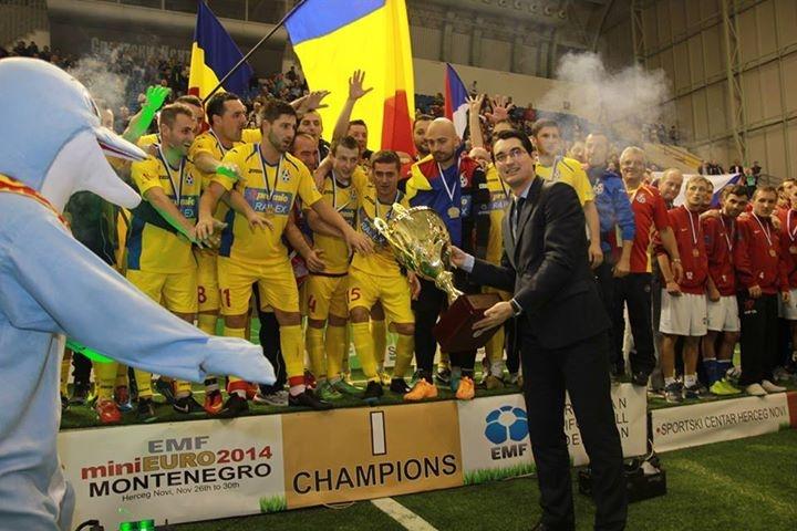 romania campioana europeana minifotbal 2014