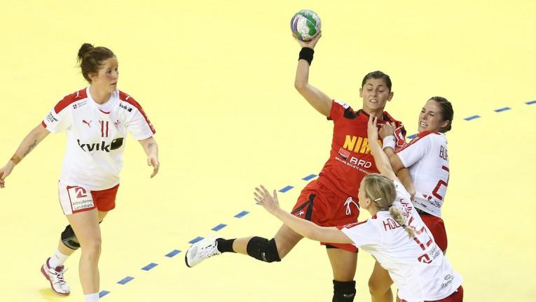 romania - danemarca CE de handbal feminin