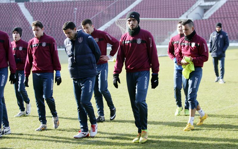 CFR Cluj prim antrenament 2015