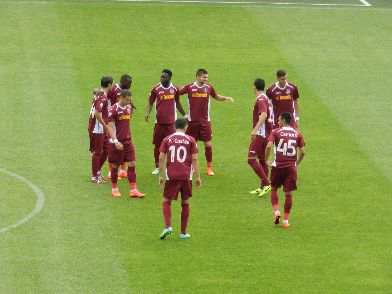 CFR Cluj își grăbește drumul spre Liga a 2-a după 0-0 la Mediaș! Mincă, eroul feroviarilor!