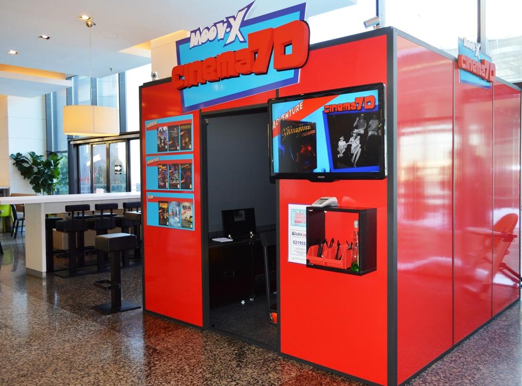 Moov - X Cinema 7D - Iulius Mall Cluj
