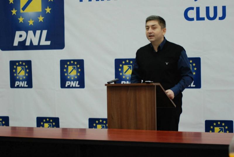 Alin Tișe a lăsat postul călduț de senator pentru scaunul de președinte al CJ Cluj!