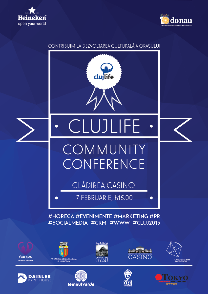 clujlife community conference