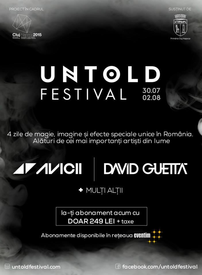 untold festival 21 ian 2015