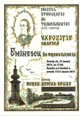 vernisaj eminescu in transilvania muzeul etnografic