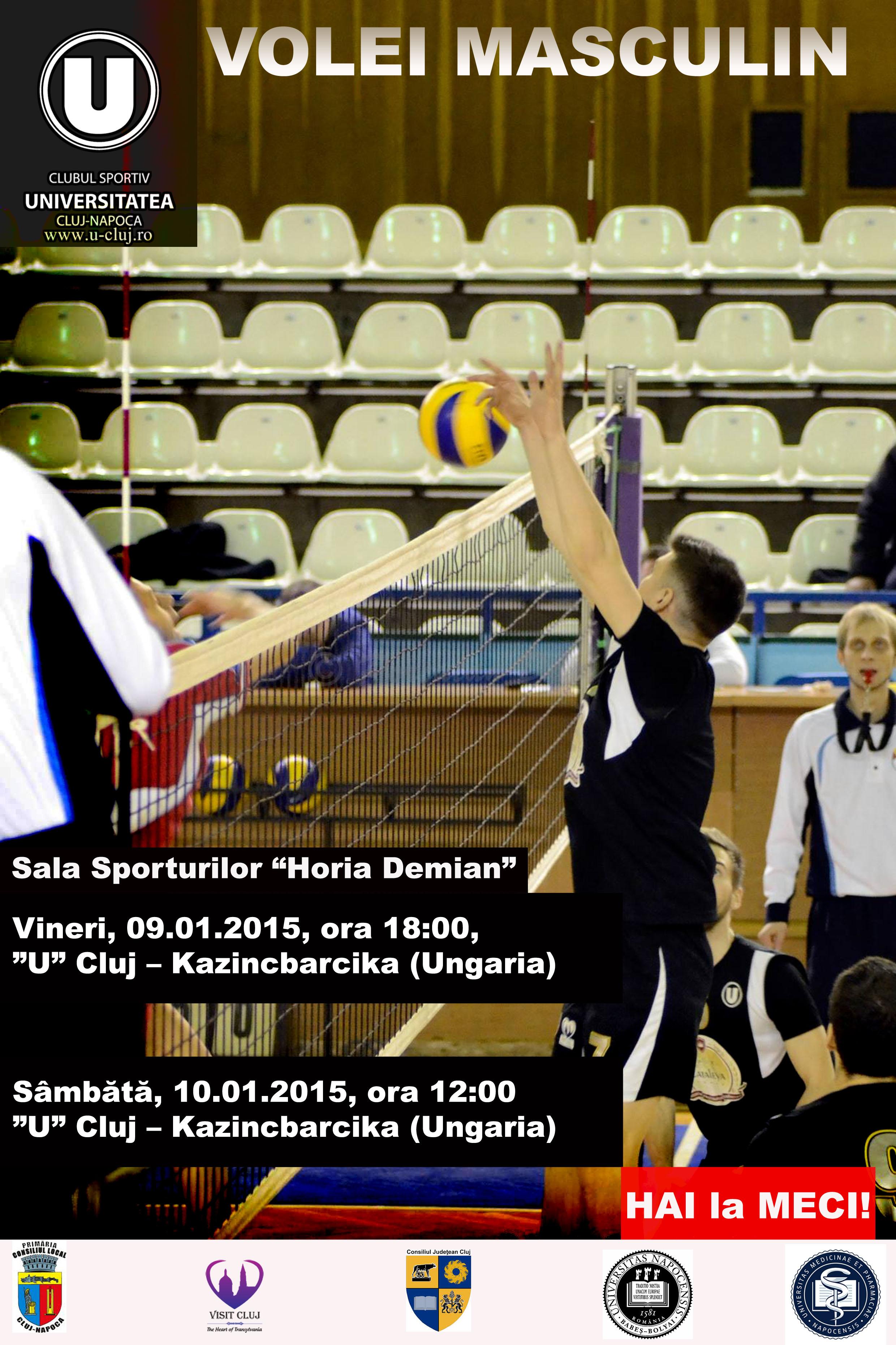 volei masculin U Cluj