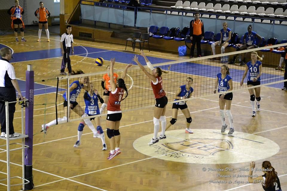 voleibaliste CS U Cluj