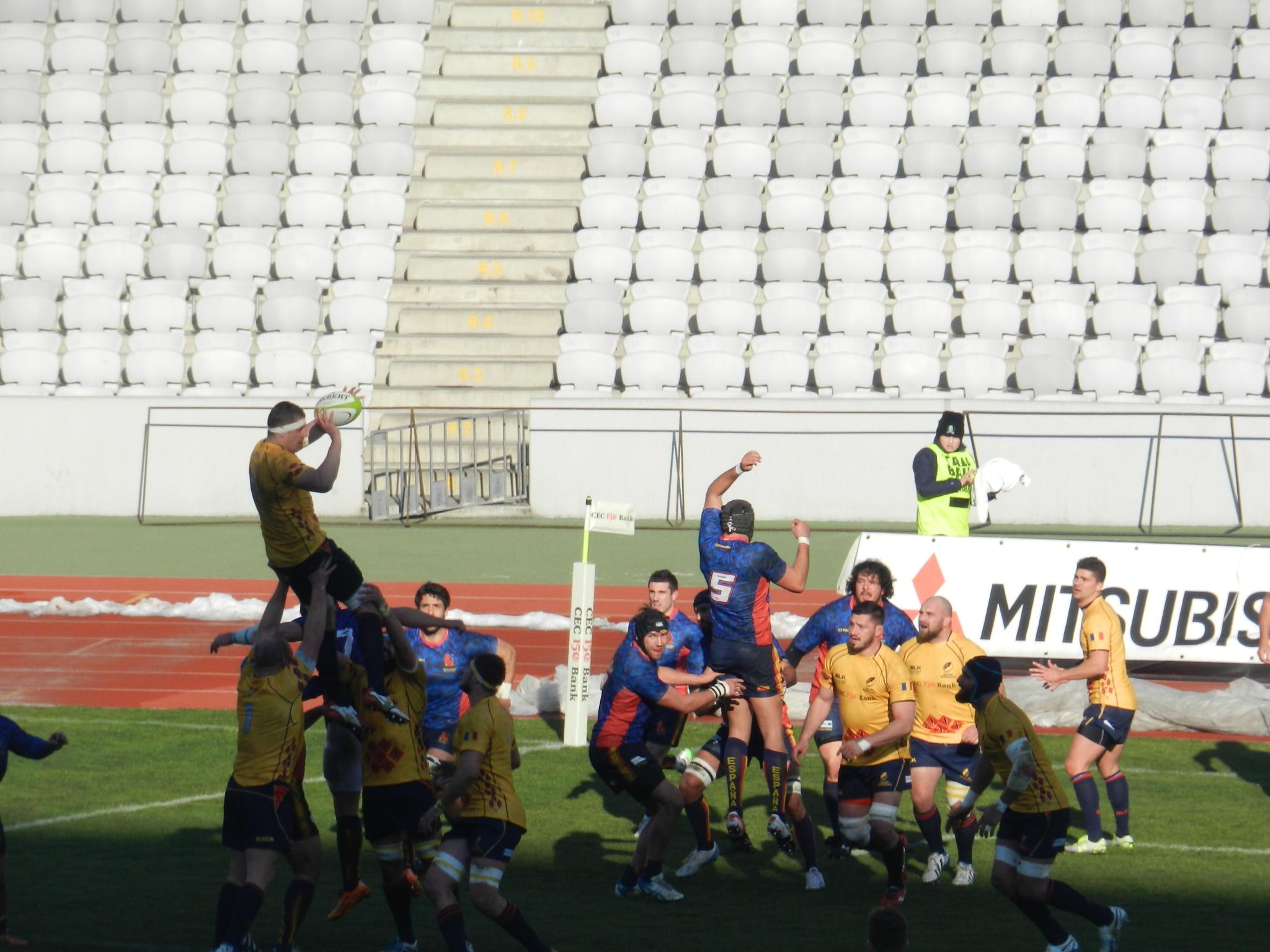 """""""Stejarii"""" au învins Spania și au luat și bonusul ofensiv pe Cluj Arena"""