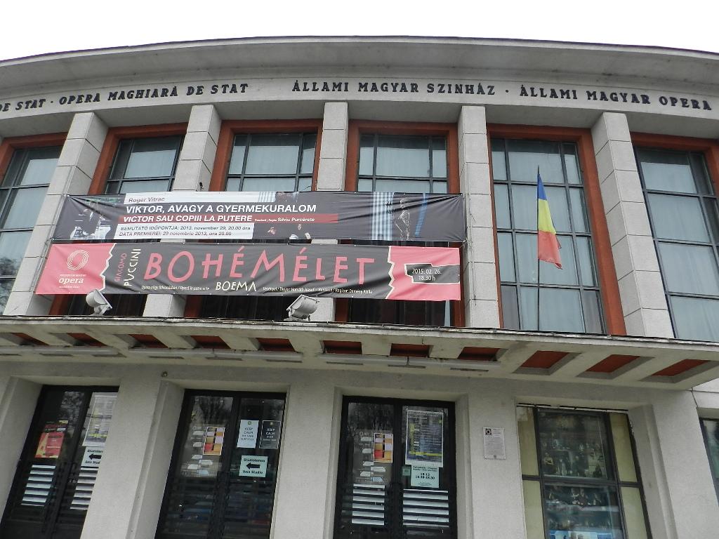 teatrul maghiar de stat din cluj