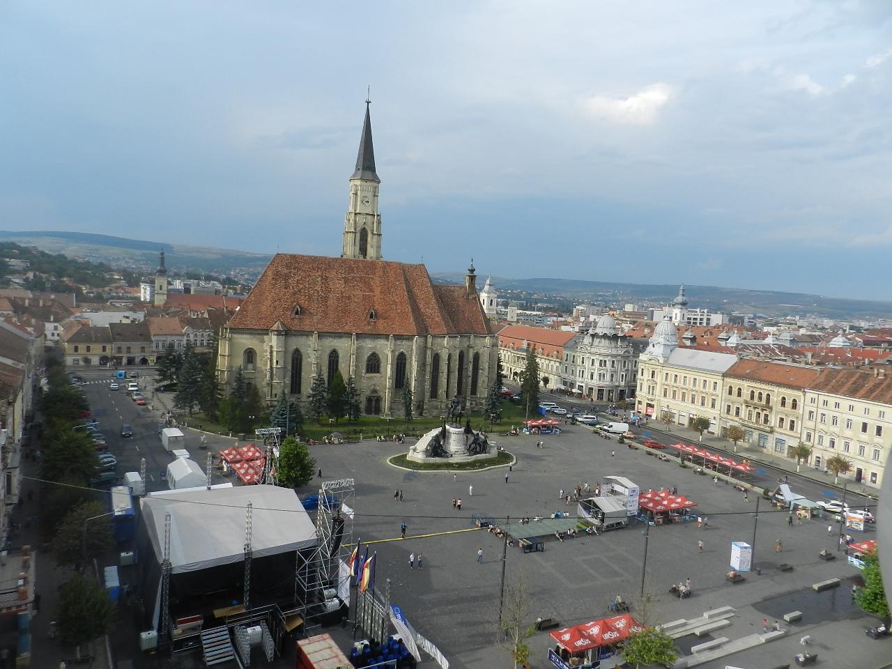Cluj, Piata Unirii
