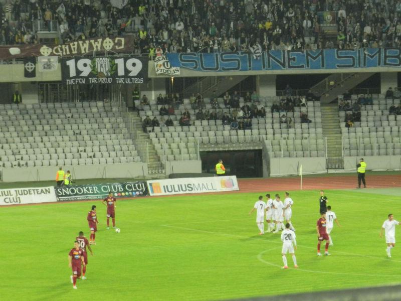 """Meciul """"U"""" Cluj – CFR 2-3 din 2012, în care feroviarii au câștigat titlul pe Cluj Arena, în vizorul DNA"""