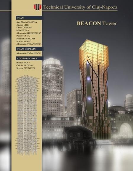 beacon tower studenti concurs boston USA