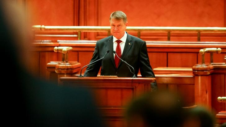 """Iohannis face apel la parlamentari in cazul Vosganian. """"NU tolerati coruptia"""""""