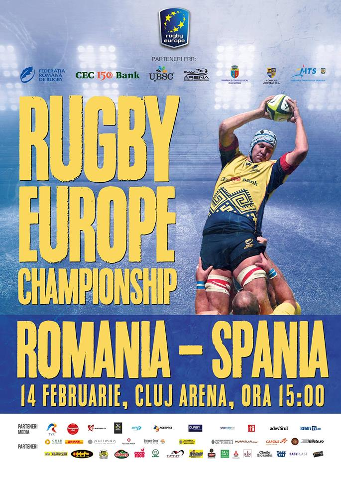 rugby europe championship romania spania cluj arena