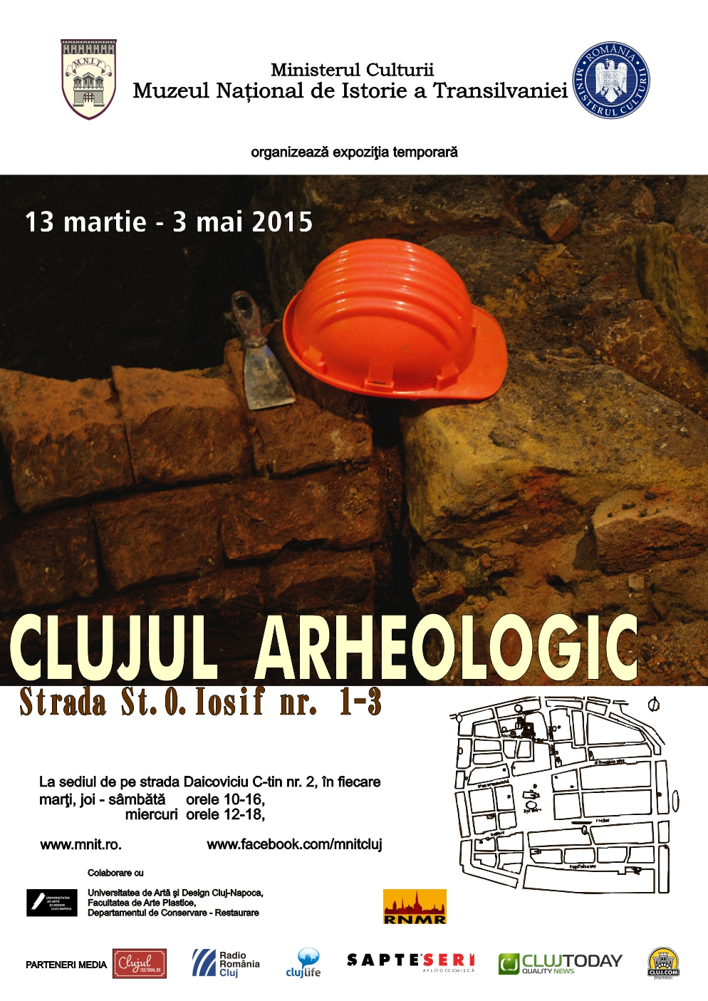 """Expoziție """"Clujul arheologic"""", la Muzeul Național de Istorie a Transilvaniei"""