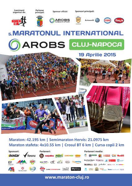 Maratonul International Arobs Cluj Napoca