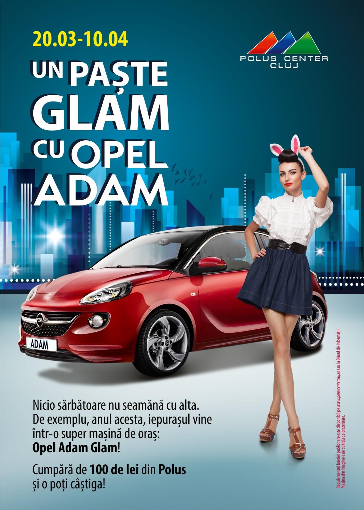 Un Paște Glam cu Opel Adam la Polus