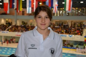 andreea andonie natatie CSU Cluj