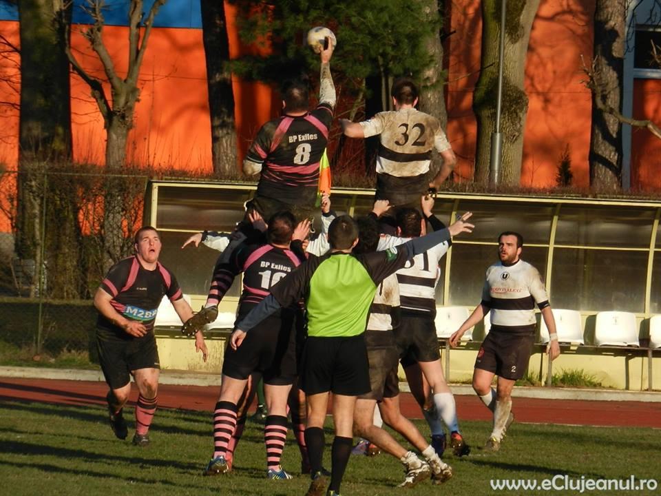 Victorie în primul meci internațional pentru CS Mănăștur, echipa de rugby formată din studenți româno-francezi