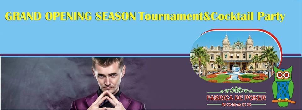 fabrica de poker monaco turneu inaugural 9 martie 2015