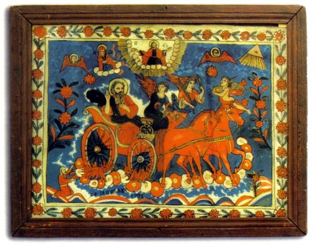 iconografie pe sticla