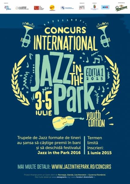 jazz in the park 2015 concurs de interpretare