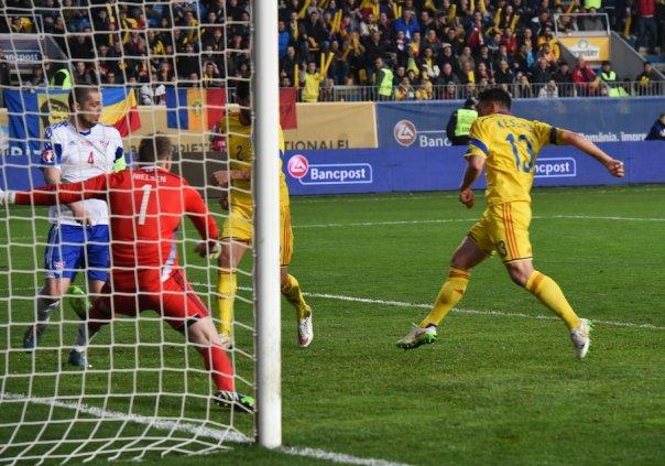 România a învins greu Insulele Feroe și rămâne lider în Grupa F a preliminariilor pentru EURO 2016