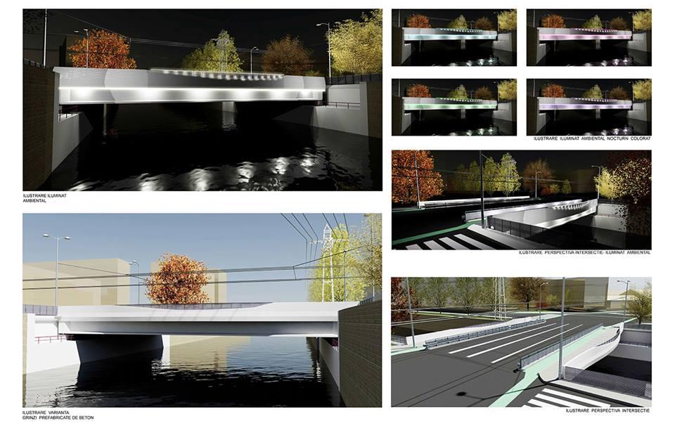 podul traian modernizare proiect