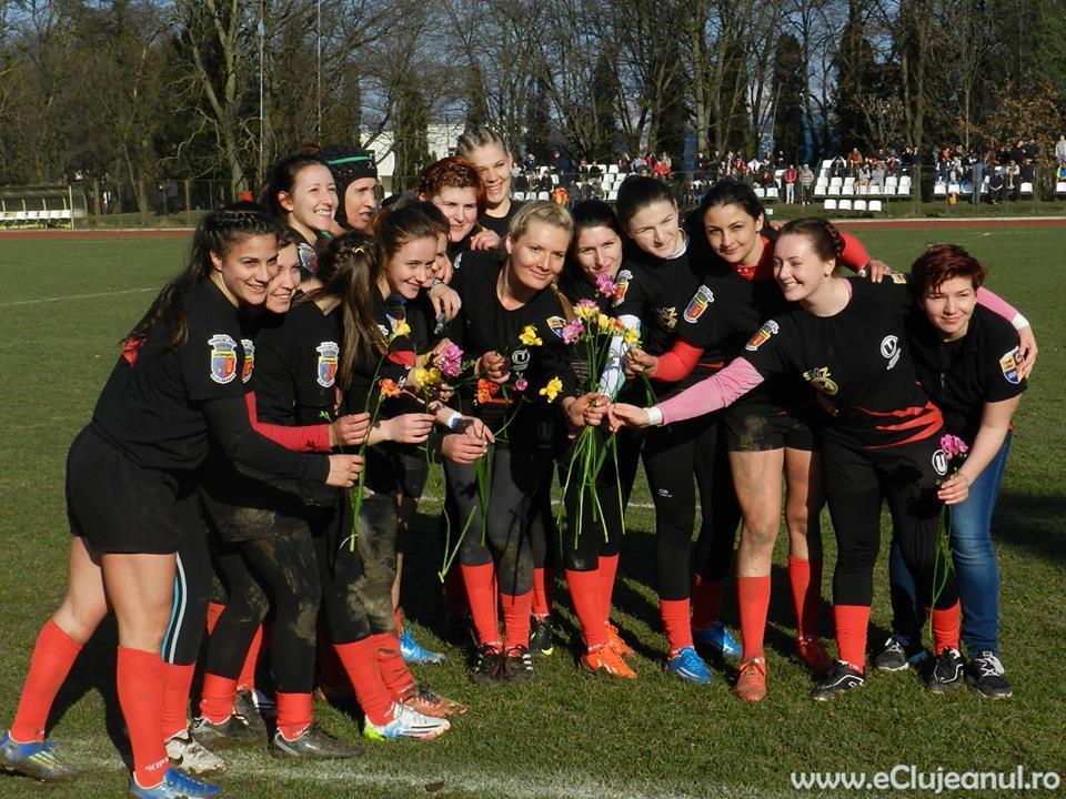 rugby feminin U Cluj