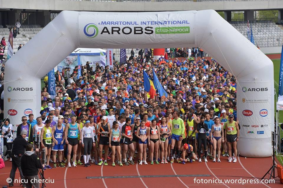 Toate locurile la Maratonul Internațional AROBS Cluj, epuizate cu două săptămâni înainte de competiţie