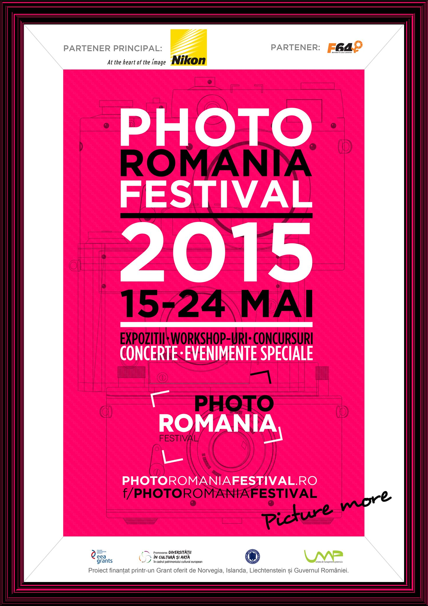 Poster Photo Romania Festival 2015