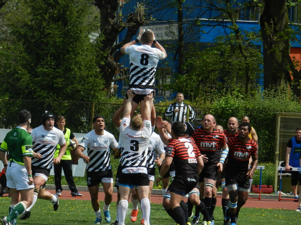 Rugby - U Prodvinalco - Timisoara 14-48 - Sambata, 25.04.2015