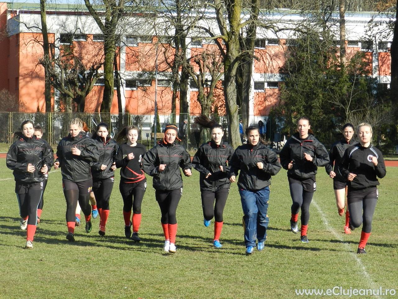 U Cluj rugby feminin in 7
