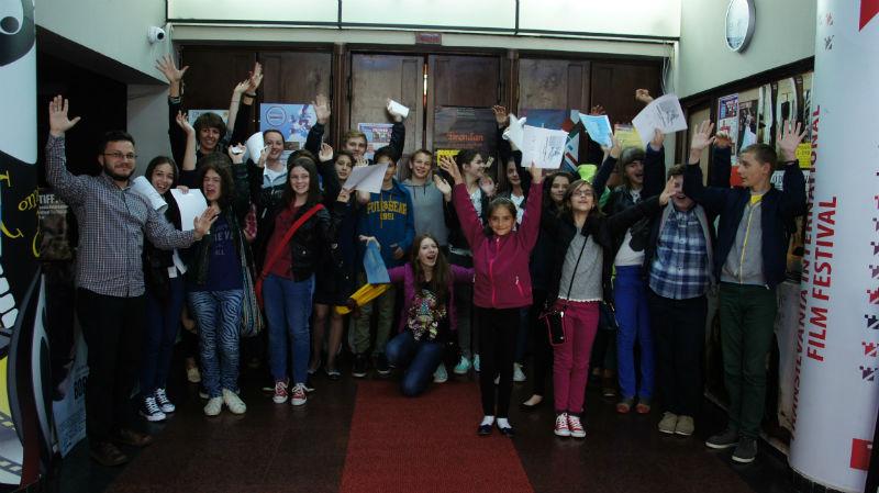 Elevi din Cluj în juriul premiilor Academiei Europene de Film