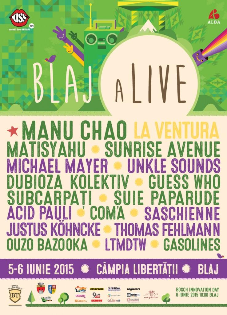 blak alive 2015 poster