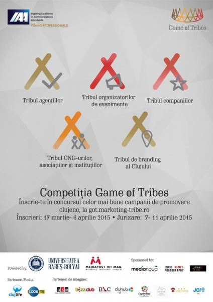 competitia jocul triburilor marcom