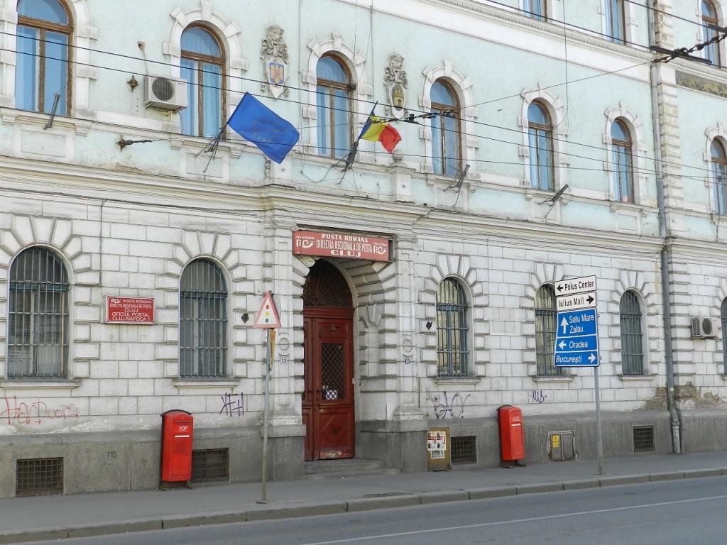 oficiul postal central cluj regele ferdinand