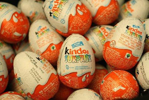 Ouălele Kinder sunt ilegale în SUA. Vezi de ce