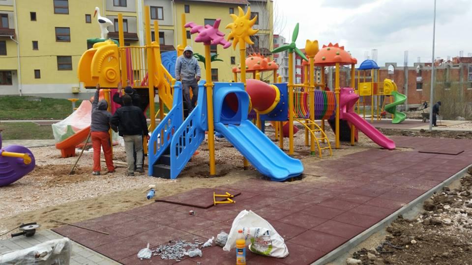 Primarul Horia Șulea inaugurează vineri un loc de joacă pentru copii în Florești